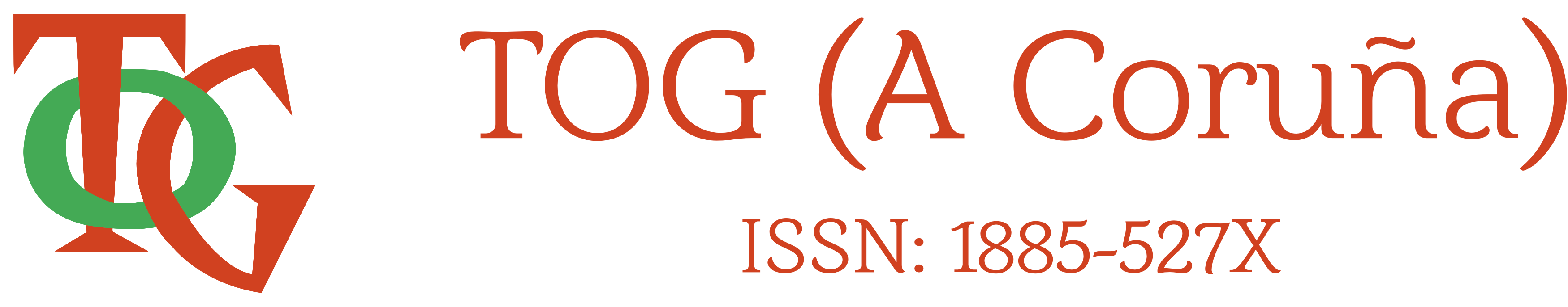 TOG (A Coruña) - ISSN: 1885-527X